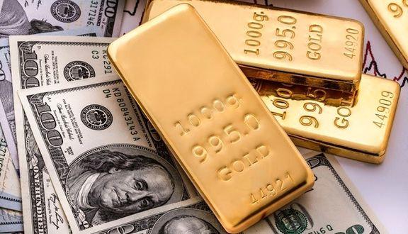 دلار از بالاترین سطح ۳ ماهه پایین آمد/ قیمت طلا به ۱٫۷۸۴ دلار رسید
