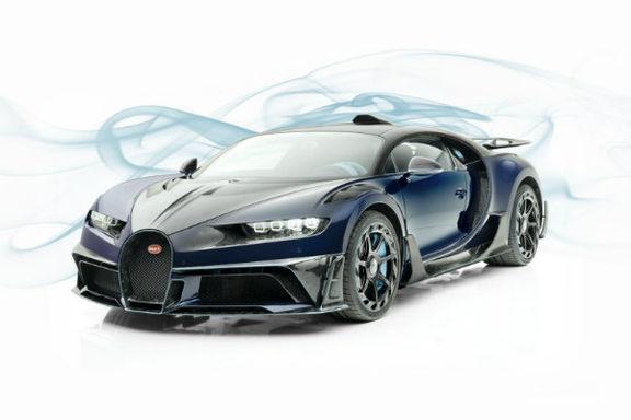 حضور خودروهای تیونینگ منصوری در نمایشگاه ژنو