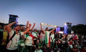 سروصدای هواداران ایرانی مقابل هتل تیم ملی پرتغال بازتاب جهانی پیدا کرد