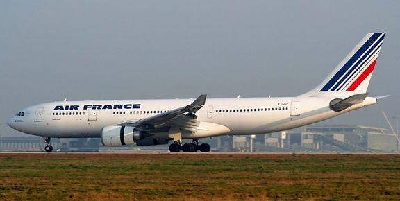 هواپیمایی پاریس به بمبئی ناچار به فرود اضطراری در اصفهان شد