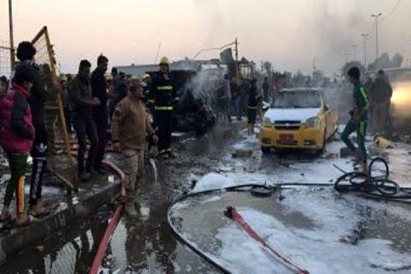 وقوع انفجار انتحاری در شهرک «صدر»  بغداد /  8 کشته و ۱۰ تَن  زخمی