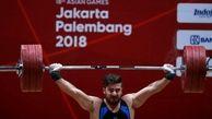 کیانوش رستمی از مسابقات وزنهبرداری قهرمانی جهان اوت شد