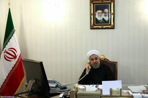 مکالمه تلفنی روحانی با مکرون  درباره برجام /  ایران مصمم به بازگذاشتن همه مسیرها برای حفظ برجام است