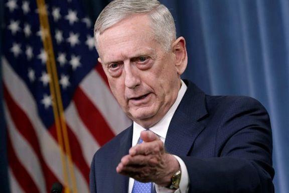 وزیر دفاع آمریکا ادعاهای بی اساس خود علیه ایران را تکرار کرد