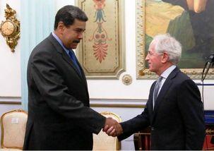 باب کروکر با نیکولاس مادورو دیدار کرد