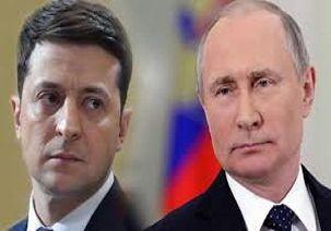 پوتین و رئیس جمهور اوکراین برای اولین بار با هم دیدار کردند