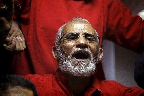 حکم حبس رهبر اخوان المسلمین در پرونده ای دیگر صادر شد