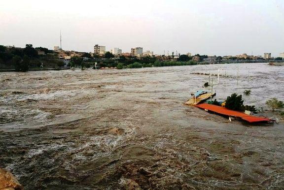 احتمال جاری شدن سیل طی امروز و فردا در مناطق نیمه غربی و شمالی کشور