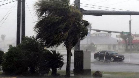 طوفان دوریان خسارات زیادی به بار آورد