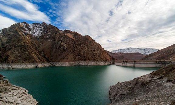 کاهش ۳۷۳ میلیون متر مکعبی ذخایر آبی استان تهران