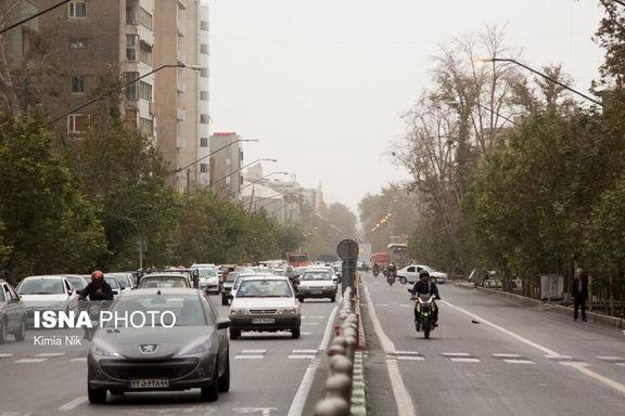 هوای تهران دوباره آلوده شد/آلودگی هوا ناسالم برای افراد حساس
