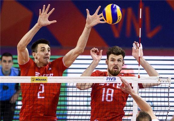 تیم ملی والیبال ایران در هفته سوم رقابتها روز جمعه به مصاف کانادا می رود