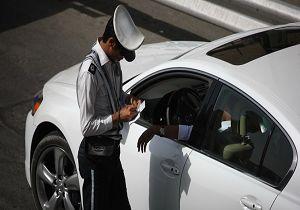 نصب استیکر و برچسب بر روی بدنه خودرو جریمه ۵۰ هزار تومان دارد