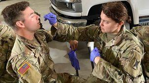 تعداد مبتلایان به کرونا در ارتش آمریکا از دو هزار و 500 نفر عبور کرد