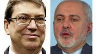 ظریف هرگونه دخالت خارجی در امور داخلی کوبا را مردود اعلام کرد