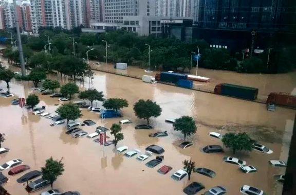 طوفان چین جان 39 نفر را گرفت