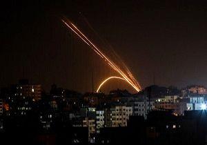 صهیونیستها مواضع حماس را  هدف قرار دادند