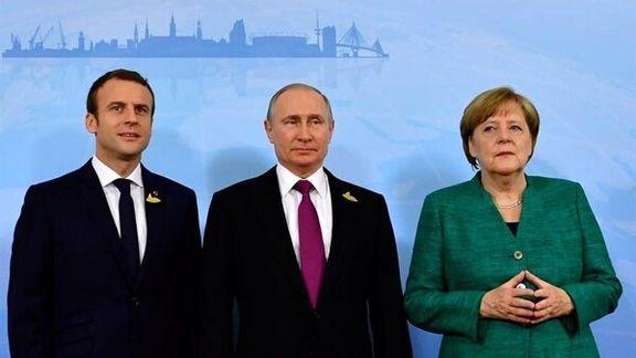 رایزنی آلمان، روسیه و فرانسه درباره راهکارهای احیای برجام