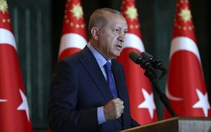 شکستن آیفون ها توسط طرفداران اردوغان سقوط لیر را متوقف کرد