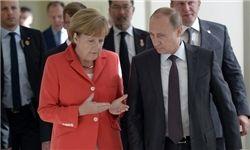 ولادیمیر پوتین و آنگلا مرکل در گفتگوی تلفنی بر حفظ برجام تأکید کردند