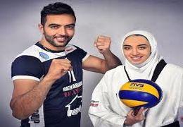 سوتی حامد معدنچی و کیمیا علیزاده در برنامه تلویزیونی + فیلم