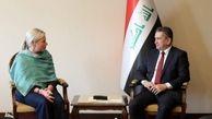 نماینده سازمان ملل با نخست وزیر جدید عراقی دیدار کرد