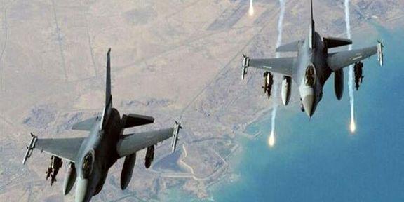 آمریکا جنگنده های هوایی خود را بر بالای پایگاه های خود به پرواز درآورد