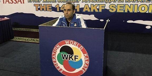 حسن روحانی سرمربیگری تیم کاراته را به عهده می گیرد