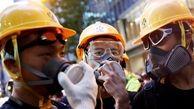 اعتراضات در هنگ کنگ همچنان ادامه دارد / پلیس با گاز اشکآور معترضان را متفرق کرد