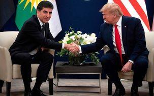 دیدار ترامپ با همتای اقلیم کردستان خود