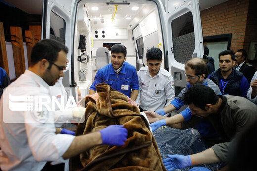 برخورد ۲ دستگاه وانت حامل اتباع بیگانه در سیستان و بلوچستان /  ۲۸ نفر کشته  شد