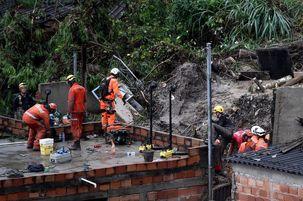 وزش طوفان شدید در برزیل جان 30 نفر را گرفت