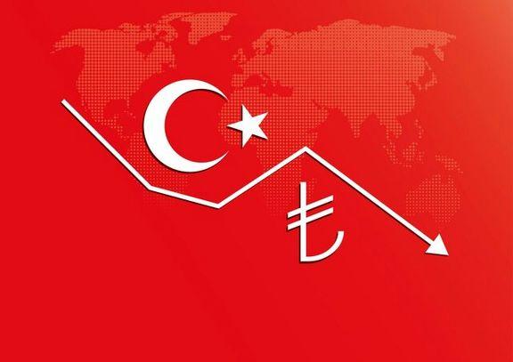 ریزش لیر در پى تصمیم اخیر اردوغان