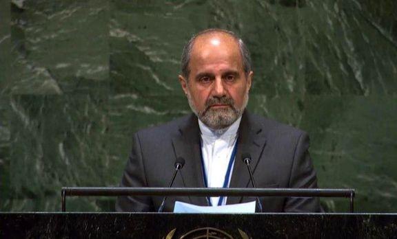 ایران مصمم به اعمال حق ذاتی خود در انرژی هسته ای است