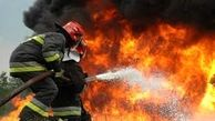 آتش سوزی در اهواز/4 مغازه فلافلی در حریق سوختند