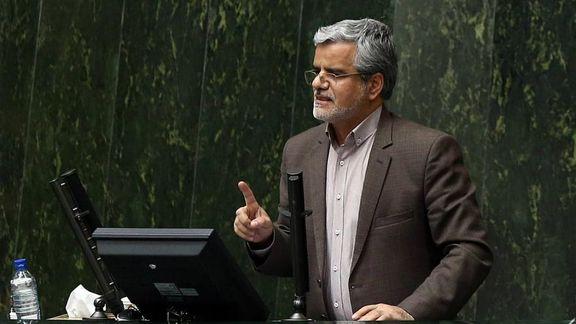 سوال محمود صادقی درباره حسابهای سپرده توسط قوه قضاییه از وزیر اقتصاد