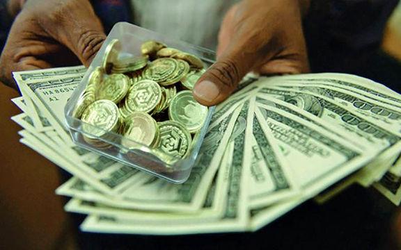 قیمت سکه به 4 میلیون و 248 هزار تومان رسید / دلار صرافی های بانکها 200 تومان افزایش یافت