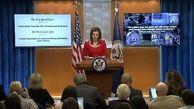 آمریکا فشار علیه ایران را ادامه می دهد