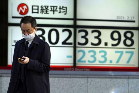 افت بازارهای سهام آسیا تحت تاثیر رفتار محتاطانه سرمایهگذاران