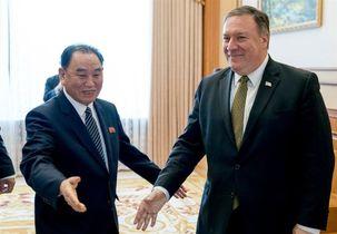 مایک پامپئو با ژنرال بلندپایه کره شمالی گفتگو  کرد
