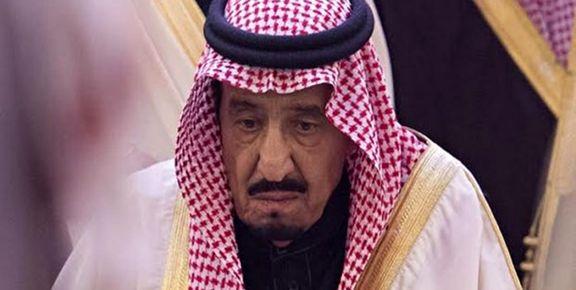 پادشاه عربستان به دلیل التهاب صفرا به بیمارستان منتقل شد