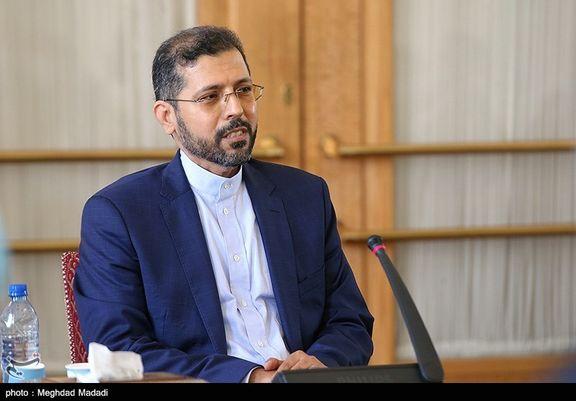 سخنگوی وزارت خارجه هرگونه اتهام به ایران در رابطه با طالبان را رد کرد