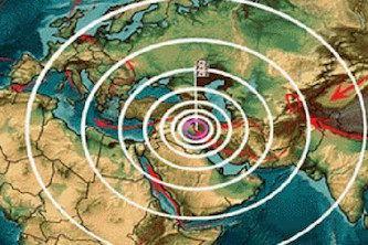 زلزله 4.1 ریشتری در سرپل ذهاب