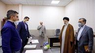 بازدید سرزده آیت الله رئیسی از دادسرای کشیک در شهر تهران
