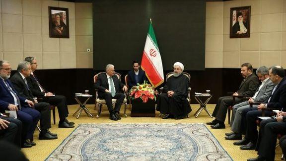 بن علی ییلدریم: ترکیه در هر شرایطی روابط با ایران را ادامه می دهد