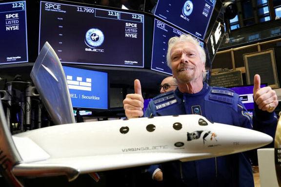 اولین میلیاردر با فضاپیمای خود به فضا رفت