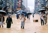 معاملات صبح بورس هنگ کنگ به دلیل طوفان تعطیل شد
