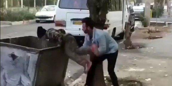صحبتهای افرادی که کودک زبالهگرد را مورد آزار و اذیت قرار دادند + فیلم