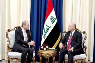 خاک عراق نباید محلی برای تنش ها باشد