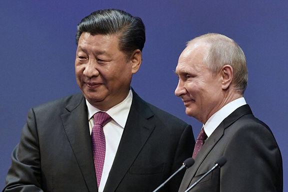 رهبر چین و رئیس جمهور روسیه یک خط لوله گاز را افتتاح کردند